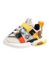 Baby Toddler Boys Girls Fashion Sneakers Kids Casual Sports Walking Shoes Casual Shoes for 1-5 Years Old