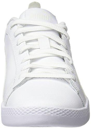 White para Zapatillas Smash White L Mujer Wns V2 Blanco 4 Puma Puma puma BwpqWXPX