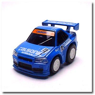 リアルギミックチョロQ RG-Q11 カルソニック スカイライン GT-R R34(ブルー) Qショップオリジナル