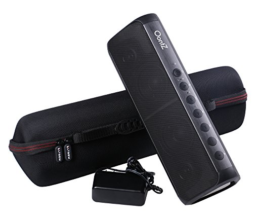 LTGEM Case for Cambridge SoundWorks OontZ Angle 3XL Portable Wireless Large Bluetooth Speaker with Mesh Pocket for Cable.