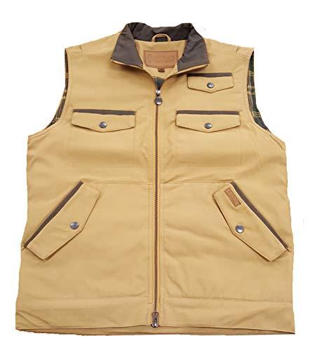 Outback Trading Men's Tillman Conceal Carry Vest (Medium, Canvas)