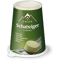 Swiss (Suisse) Schabziger Stöckli faible en gras Fromage Suisse Fromage râpé 100 g Transport réfrigéré