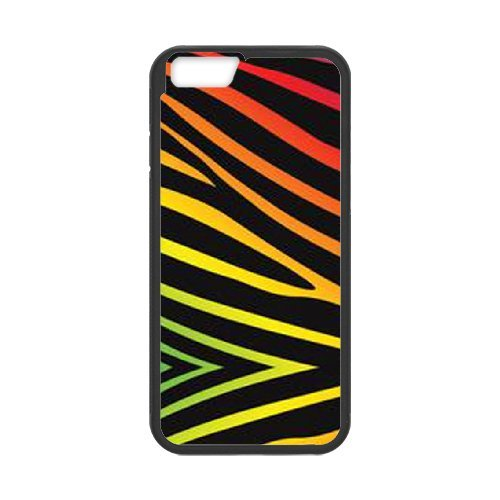 """SYYCH Phone case Of Colorful Cute Zebra Style Cover Case For iPhone 6 Plus (5.5"""")"""
