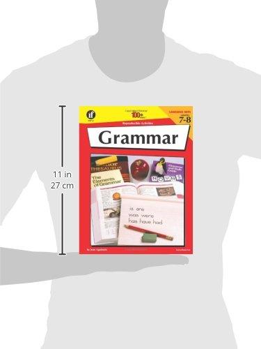 Amazon.com: Grammar, Grades 7-8, 100 Reproducible Activities ...