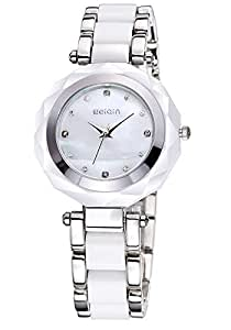 Fashion Ladies Stainless steel With Charm Watch
