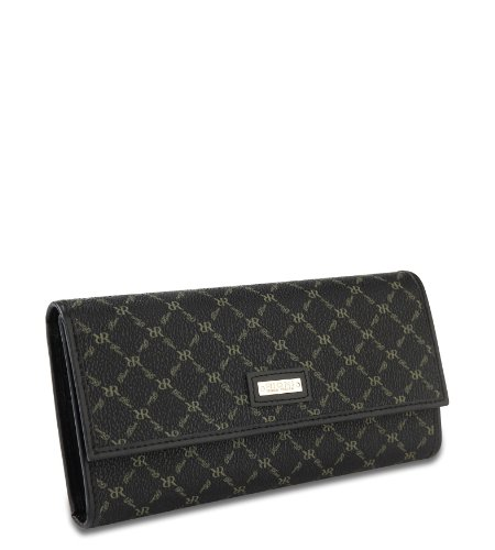 Rioni Signature (Black) - Checkbook Wallet