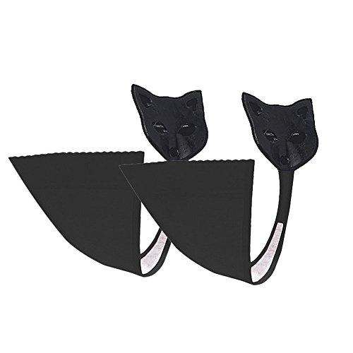 Angtuo Spéciale Femmes Pour Occasion C Culotte Sans Pack Une Underwear string Trace No 2 Invisible String Adhésif Noir Bretelles G rSUCwr