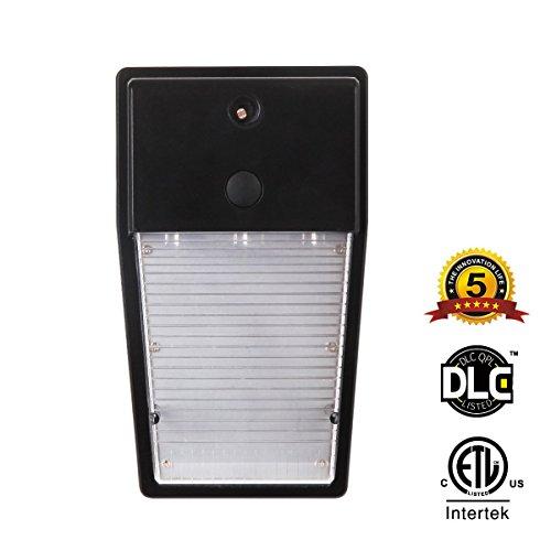 TT Lighting 1 PACK Wall Pack Led Light, 13W 1300lm Outdoor Wall Mount Lighting with Dusk to Dawn Photocell Sensor Waterproof IP65 (3000K- Warmlight), ETL Certified, Wall Light for Garage Basement Yard