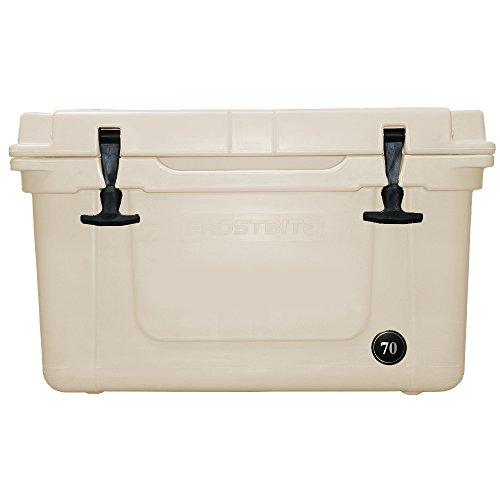 - Frostbite 70 Quart Premium Cooler (White)