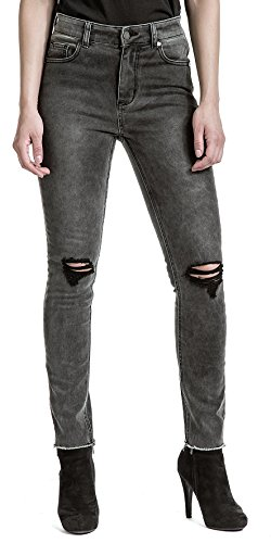 Jeans Victim High Fashion Waist Donna Grigio CtBxdqZx