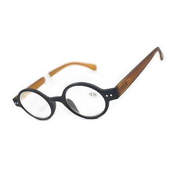 f0ca2f53b8 Meijunter Vintage Round Oval Reading Glasses Women - Fashion Style Design  Spring Hinge Eyeglasses Frame Retro