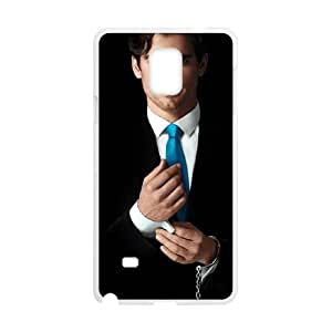 White Collar Samsung Galaxy Note 4 Cell Phone Case White yyfD-275300