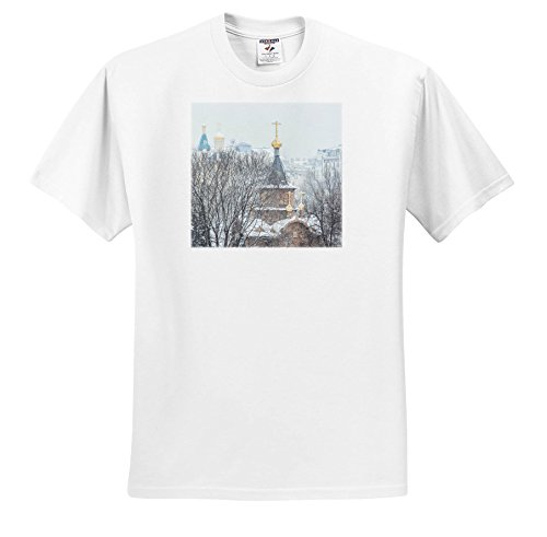 Alexis Photography - Moscow City - Moscow Winter. Chapel Of The Sovereign Icon Of The Theotokos - T-Shirts - Toddler T-Shirt (4T) (TS_267151_17) (Sovereign Tee)