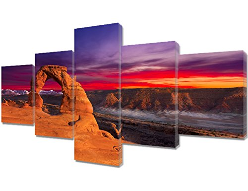 Top 10 best delicate arch photo wall hanging