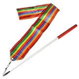 BingHang 5 Pack Colorful Gym Rainbow Ribbons