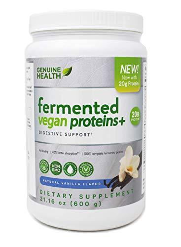 Genuine Health Fermented Vegan Proteins+, 600g, Vanilla