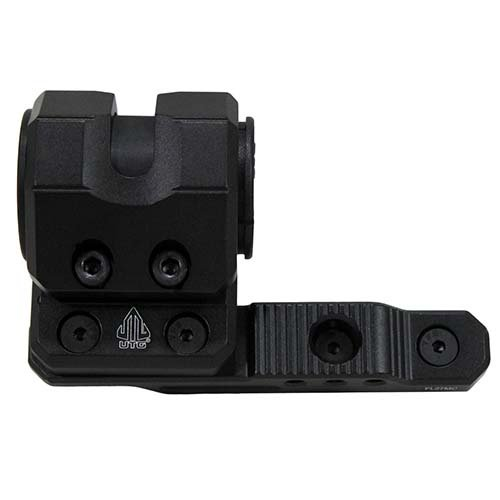 (UTG M-LOK(R) Offset Flashlight Ring Mount, Matte Black)