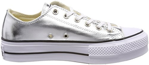 Silver Taylor Star Women's Black White Lift Chuck Shoe Ox Converse All Casual 6zpw4fq
