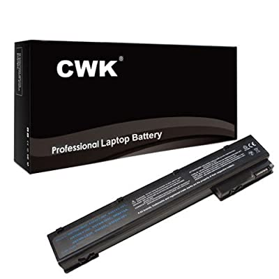 CWK® New Replacement Laptop Notebook Battery for HP EliteBook 8760W 8770W MOBILE WORKSTATION HSTNN-F10C HP EliteBook 8560w 8570w 8760w Mobile Workstation HP 632425-001 632427-001 EliteBook 8570w 632113-151 632425-001 632427-001 HSTNN-F10C EliteBook 8570w