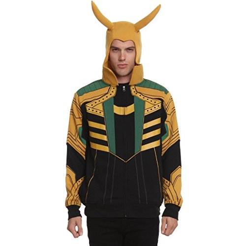 [I Am Loki Costume Hoodie-Large] (Loki Costume)