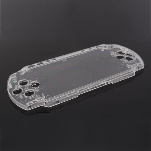(Crystal Front Faceplate Shell Cover for Sony PSP 1000)