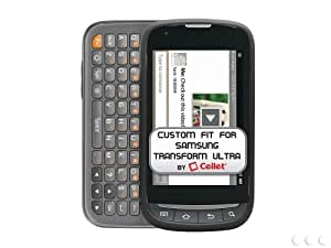 Cellet Black Rubberized Proguard For Samsung Transform Ultra