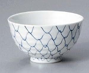 SOTO-AMI 4.4in Set of 5 Rice Bowls Jiki Japanese Original Porcelain