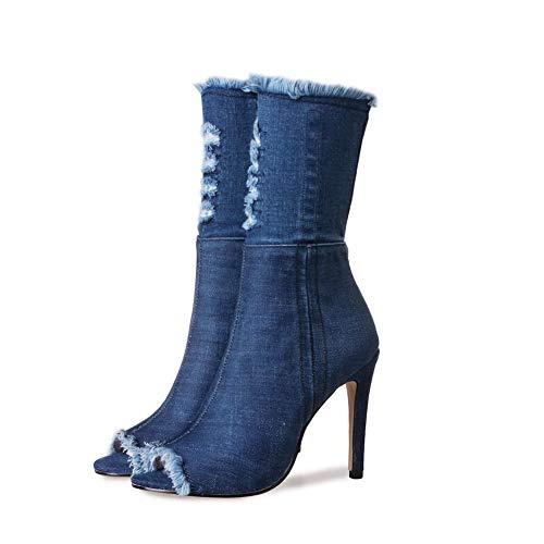 Adeesu Adeesu Sxc03797 Sxc03797 Ballerine Blue Donna Ballerine 7POgxTwH