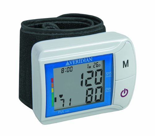 Veridian 01-506 Digital Blood Pressure Wrist Monitor