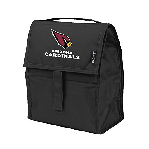 Kolder NFL Arizona Cardinals Freezable Lunch Bag, Large, Red ()