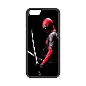 Water Spirit phone Case Deadpool For iPhone 6 Plus 5.5 Inch QQW733008