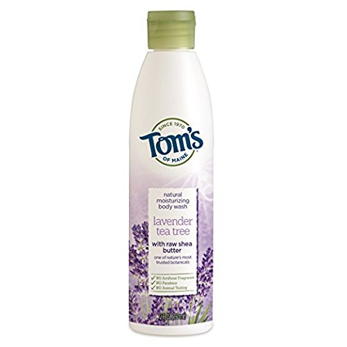 Tom's Natural Moisturizing Body Wash, Lavender Tea Tree, 12 fl oz (Pack of 2)