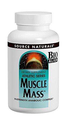 Source Naturals Muscle Mass, Hi-Strength Anabolic Complex,60 Tablets