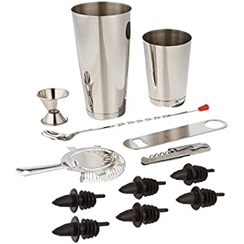 Estilo 13 Piece Stainless Steel Professional Bar Tool Set
