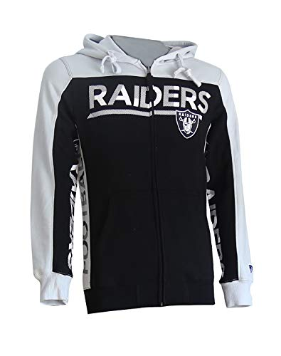 Oak Raiders Mens Fleece Hoodie Pullover Sweatshirt with Two Hand Pockets Team Colour