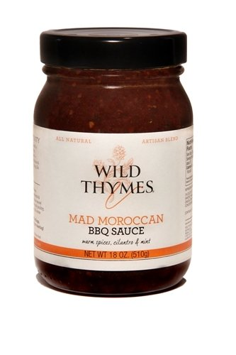 Best BBQ Wild Thymes BBQ Sauce (Mad Moroccan, 1 Pack)