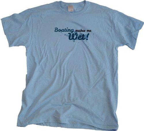 Ann Arbor T-Shirt Co. Men's Boating Makes Me Wet T-Shirt