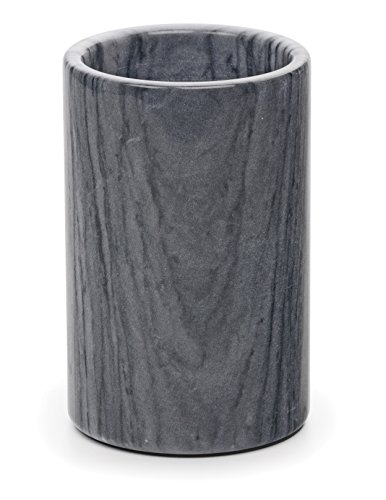 RSVP International Marble Wine Cooler,Gray,damp cloth,cleaning & care: wipe clean with (White Wine Chiller)