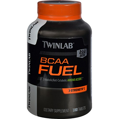 Twinlab BCAA Fuel - 180 Tablets (Tabs 180 Fuel)