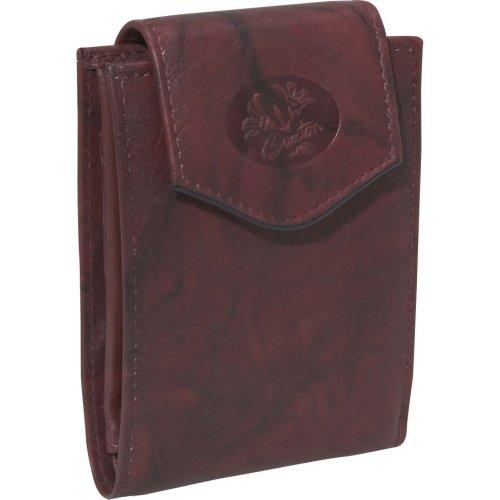 Buxton Heiress Convertible® Billfold (Burgundy), Bags Central