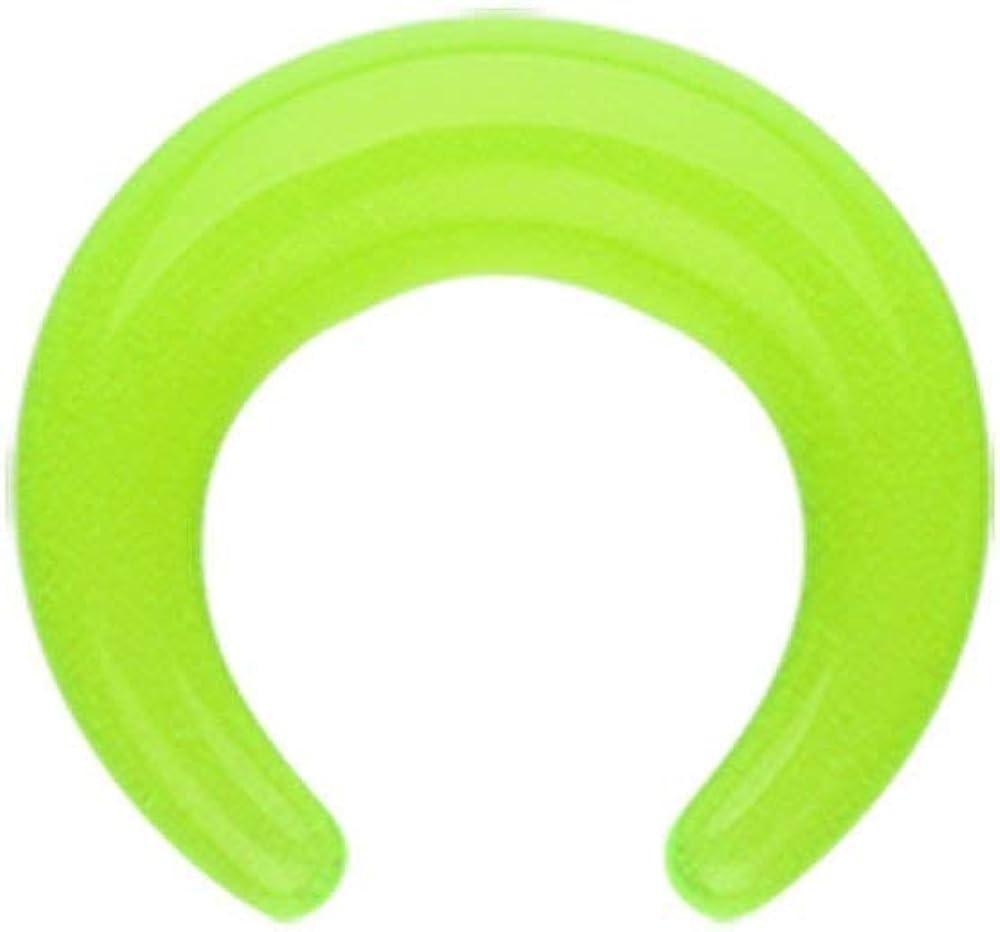 Covet Jewelry Basic Acrylic Ear Gauge Buffalo Taper