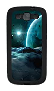 Samsung Galaxy S3 I9300 Cases & Covers -Lunarscape Custom TPU Soft Case Cover Protector forSamsung Galaxy S3 I9300¨CBlack