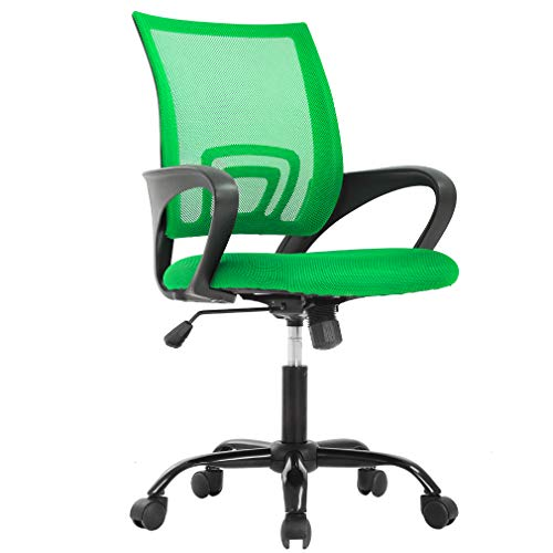 BestOffice Ergonomic Office Desk Mesh Executive Computer Chair Lumbar Support for Women Men, -