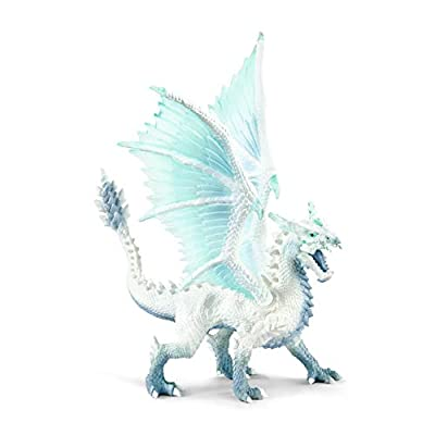 SCHLEICH Eldrador Ice Dragon Imaginative Toy for Kids Ages 7-12: Schleich: Toys & Games