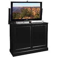TVLiftCabinet, Inc Carousel black TV Lift Cabinet