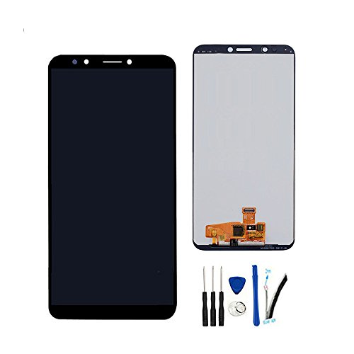 LCD Display Screen Digitizer Touch Panel Assembly Replacement For Huawei Y7 2018 LDN-L01 LDN-LX3/Y7 Prime 2018 LDN-L21 LDN-LX2 LDN-TL10/Y7 Pro 2018/Nova 2 Lite 5.99Inch Black