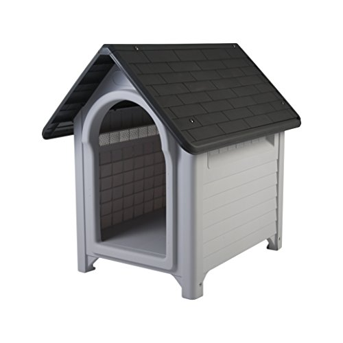 IRIS EU Dog House, Grey