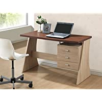 Baxton Studio Parallax Writing Desk