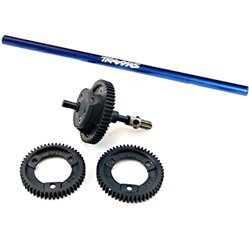 Traxxas 1/10 Slash 4x4 Platinum * CENTER DIFFERENTIAL KIT, SPUR GEARS & SHAFT *