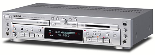 TEAC CD player / MD recorder Silver MD-70CD-S by Teac